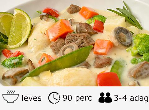 Őzragu leves