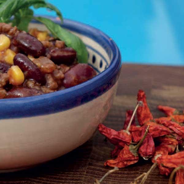 vaddisznó chili con carne
